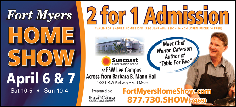 Fort Myers Home Show Coupon